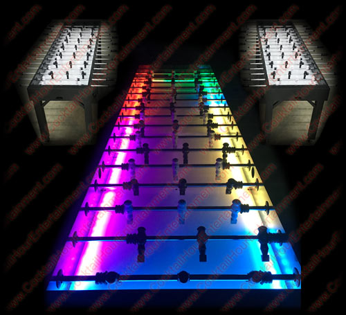 8 player lighted foosball