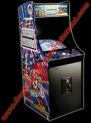 arcade legends video game rental mame