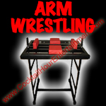 arm wrestling table button